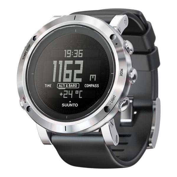 Часы-компас Suunto Core Brushed Steel серый