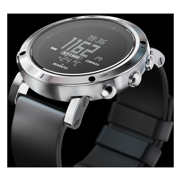 Купить Часы-компас Core Brushed Steel