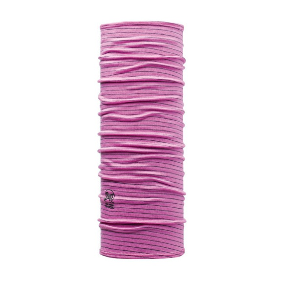 Бандана Buff Dyed Stripes Roze (Wool Buff®) Детская 53/62