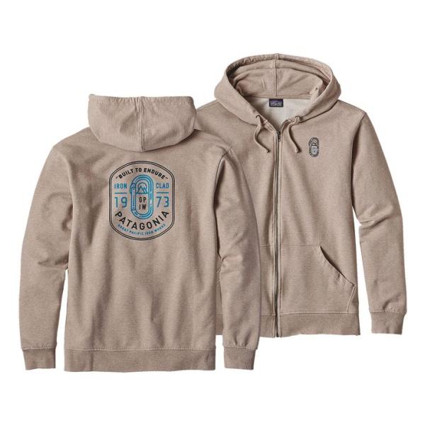 Толстовка Patagonia Ironmongers Badge MW Full-Zip Hoody