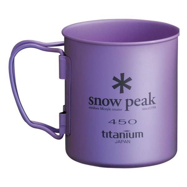 Кружка Snow Peak Snow Peak титановая Ti-Single 450 красный 0.45л