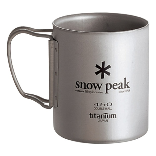 цена на Кружка Snow Peak Snow Peak Titanium Double Wall 450 450ML