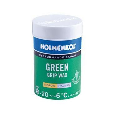 Мазь держания HOLMENKOL Grip Green 24219 мазь держания swix v50 спрей фиолетовый 70мл