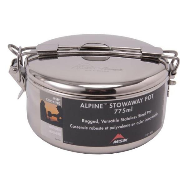 Кастрюля MSR MSR с крышкой Alpine Stowaway Pots 775 ml 0.775л