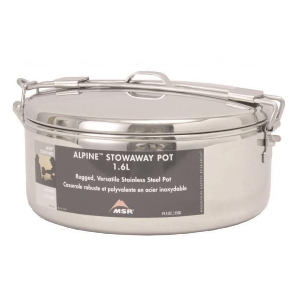Кастрюлька Msr С Крышкой Stowaway™ Pot 42887 Л. 1.6л
