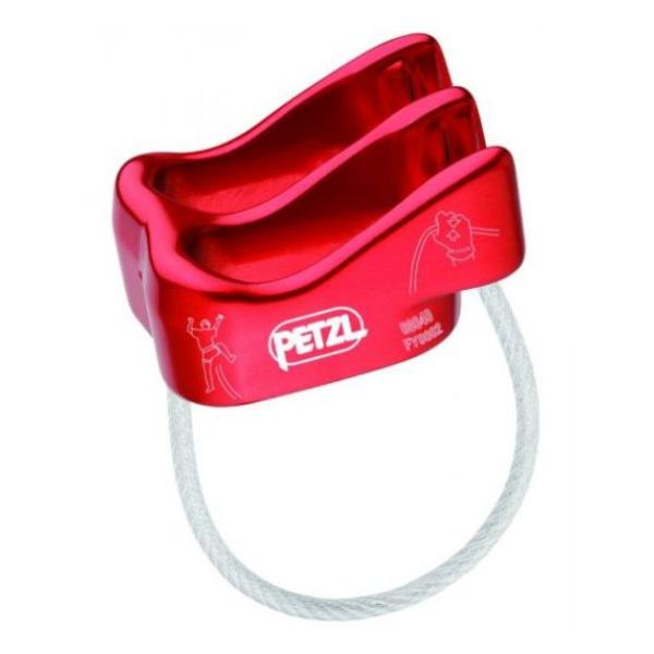 Спусковое устройство Petzl Verso красный