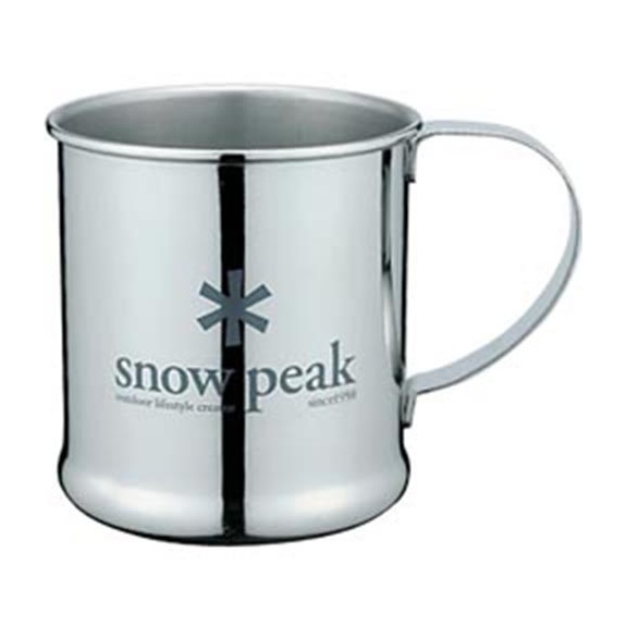 Кружка Snow Peak Snow Peak Stainless Steel 0.3л