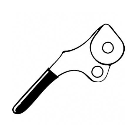 Ролик нижний + ручка для спускового устройства Petzl Petzl Stop